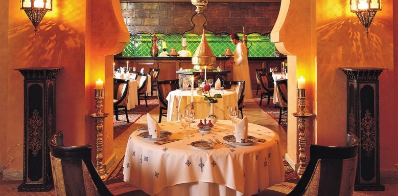 One & Only Royal Mirage - The Palace, Tagine Moroccan restaurant