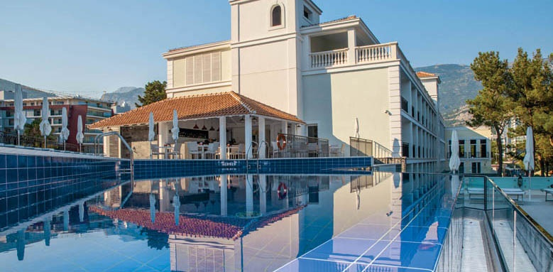Hotel Budva Pool and Exterior