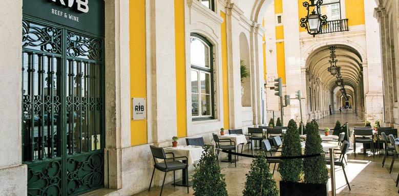 Pousada do Lisboa, exterior