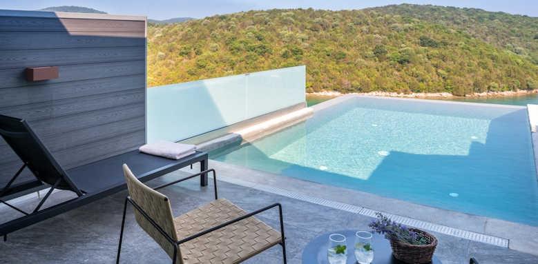 Domotel Agios Nikolaos, Junior Suite with Private Pool
