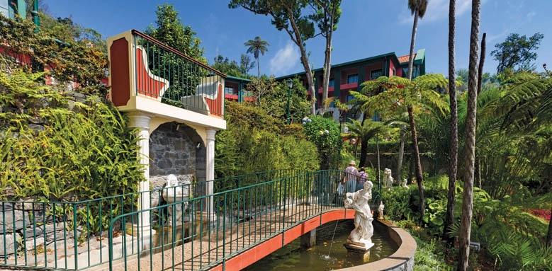 Quinta do Monte Hotel, gardens