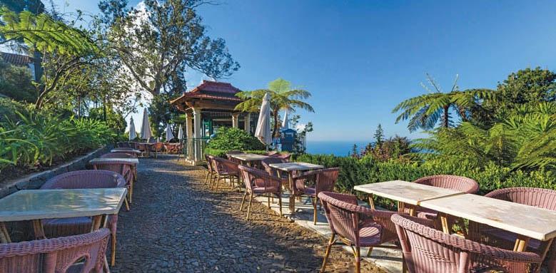 Quinta do Monte Hotel, terrace