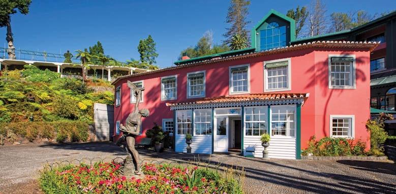 Quinta do Monte Hotel & Panormaic Gardens, facade