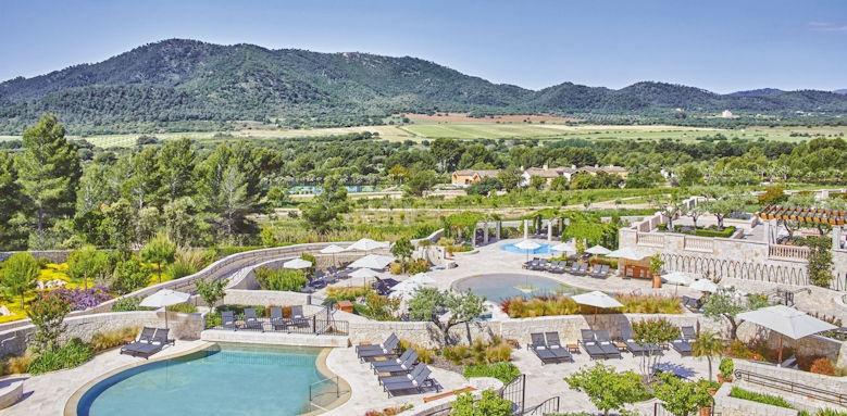 Park Hyatt Mallorca, view over landscape