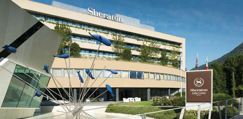 Sheraton Lake Como Hotel, Facade