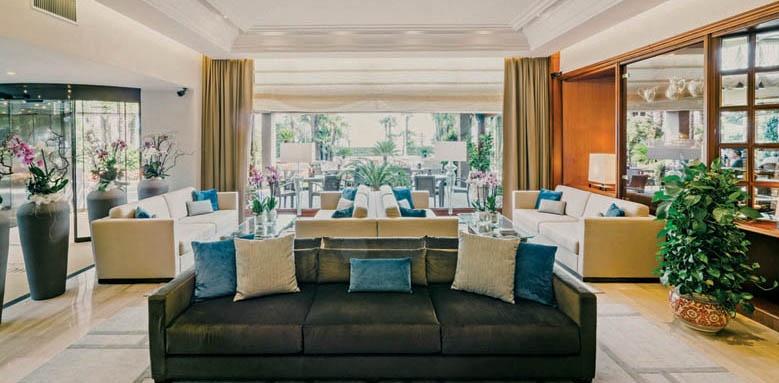 Hotel La Palma, lobby