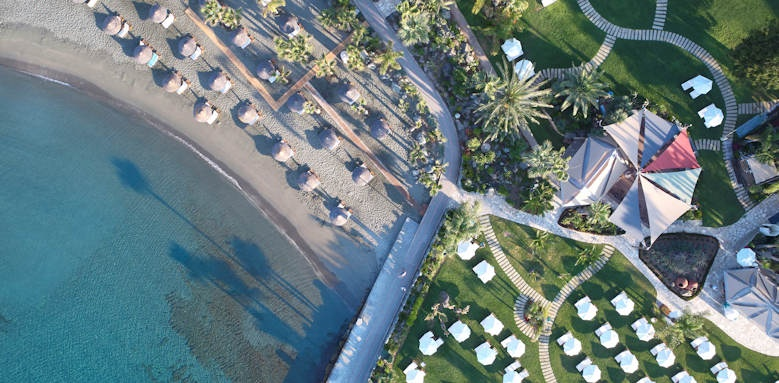 amathus beach hotel limassol, aerial
