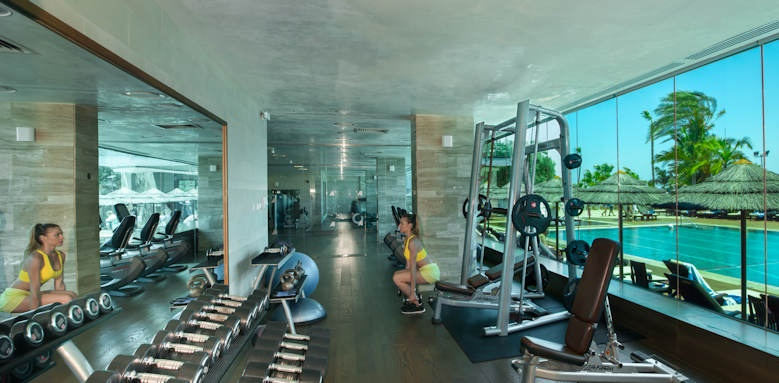 amathus beach hotel limassol, gym