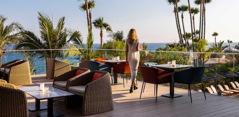 amathus beach hotel limassol, Athena Lounge Terrace