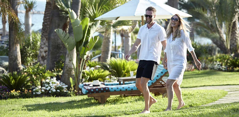amathus beach hotel limassol, gardens