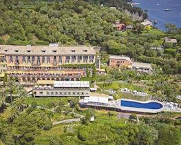 belmond hotel splendido, aerial view