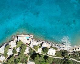 Minos Beach, view