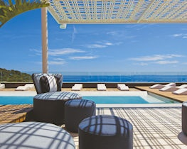 aguas de ibiza, pool terrace