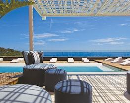 aguas de ibiza, pool terrace