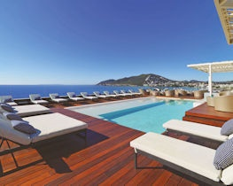 Aguas de Ibiza, pool views