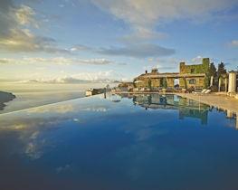 belmond hotel caruso, main infinity pool