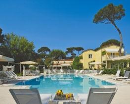 Villa Roma Imperiale, pool area