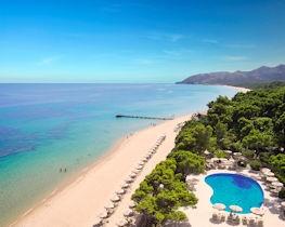 Forte Village Hotel Castello pool and beach