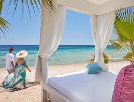 le palme, cabana beach