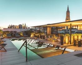 Sant Francesc, rooftop view