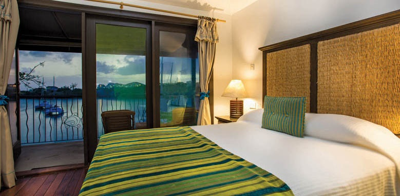 True Blue Bay Boutique Resort, waterfront room