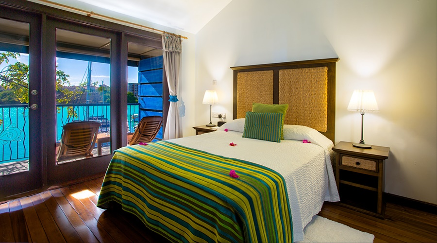 True Blue Bay Boutique Resort, waterfront room