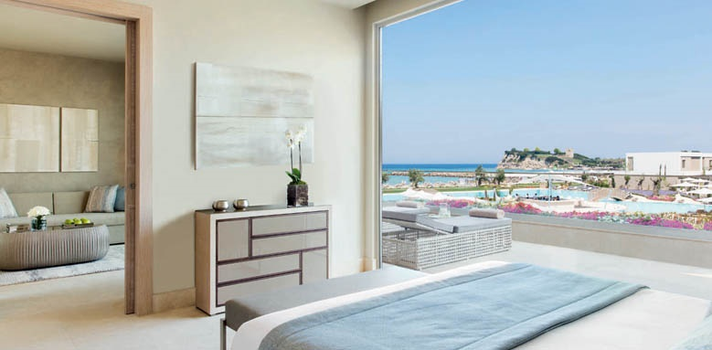 Sani Dunes, one bed suite grand balcony sea
