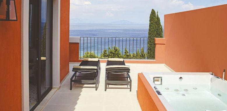 marbella nido, grand terrace junior suite
