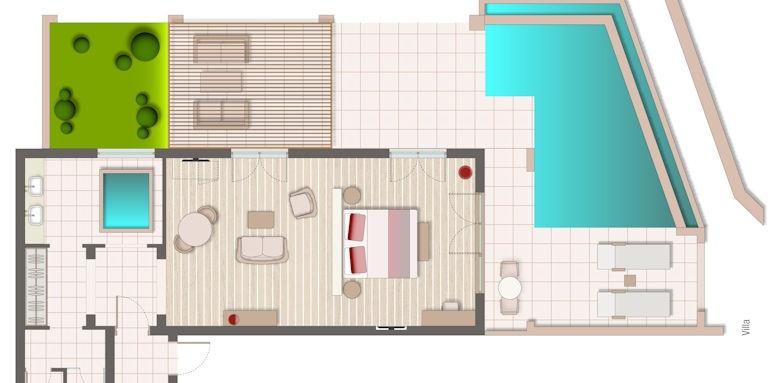 marbella nido, villa floorplan