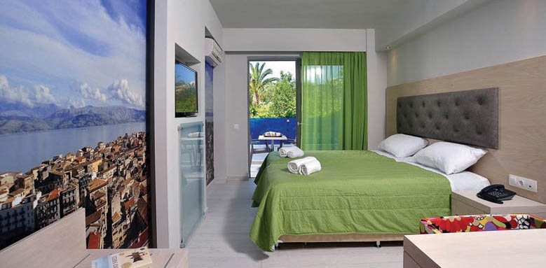 Corfu Palma Boutique, standard double room