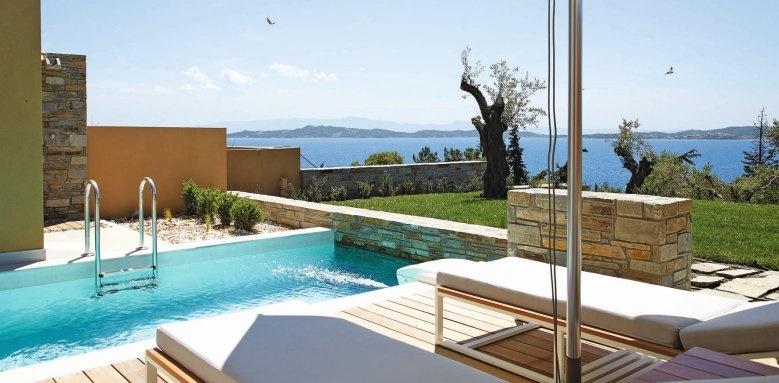 eagles villas, junior villa with garden