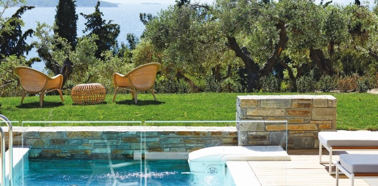 eagles villas, residential pool villas with garden