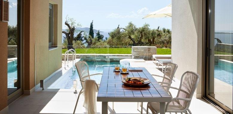 eagles villas, residential pool villa with private garden