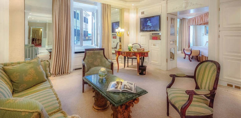 hassler roma, grand deluxe suite
