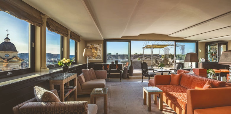hassler roma, penthouse suite