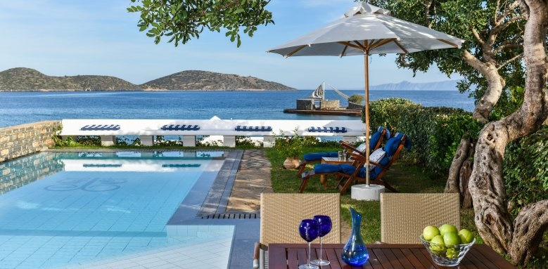 Elounda Beach, hideaway villa private pool