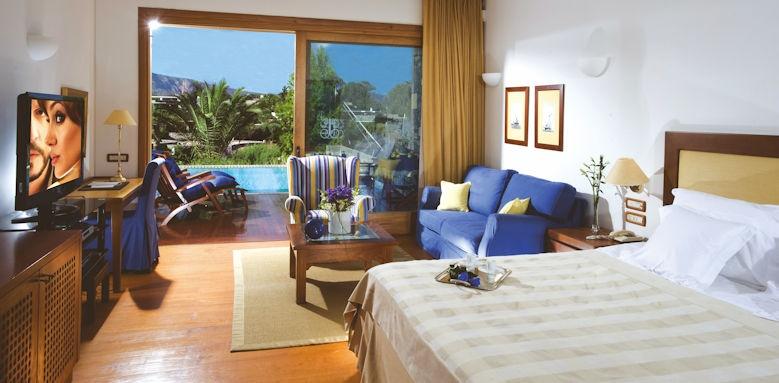 Elounda Bay Palace, classic bungalow sea view sharing room