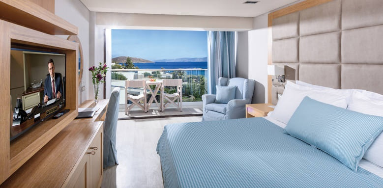 Elounda Bay Palace, deluxe room sea view