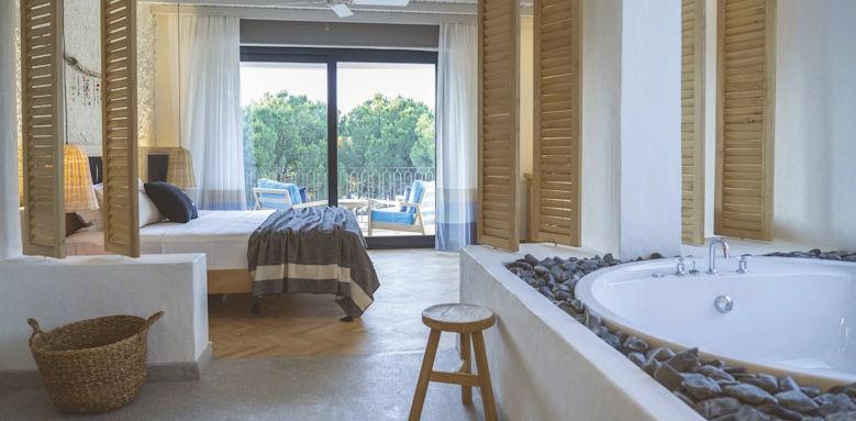 yacht boheme, deluxe room