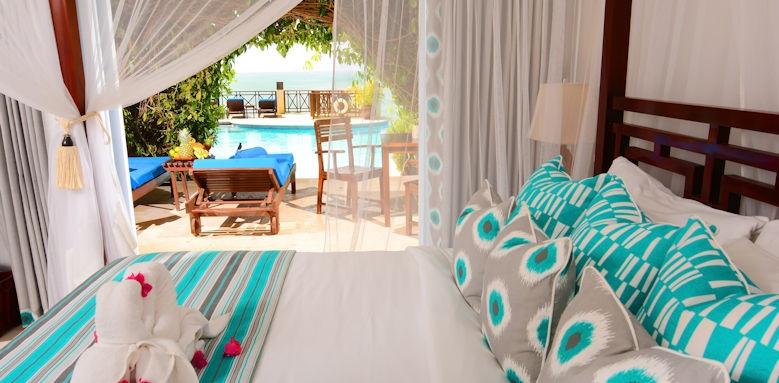 Calabash cove resort and spa, swim up junior suite