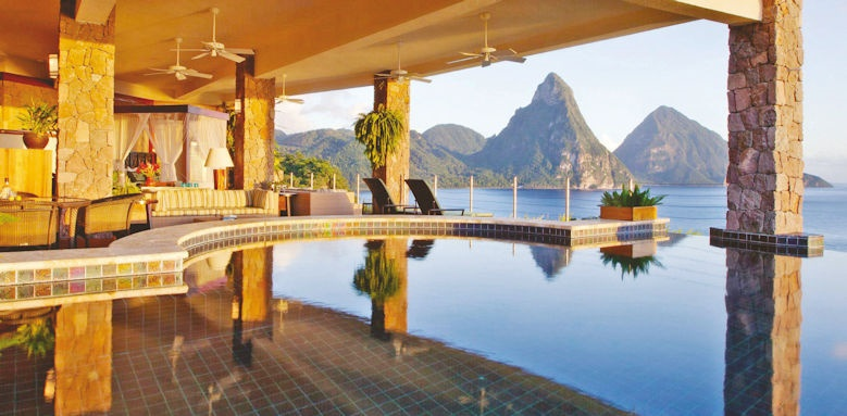 jade mountain, galaxy infinity suite