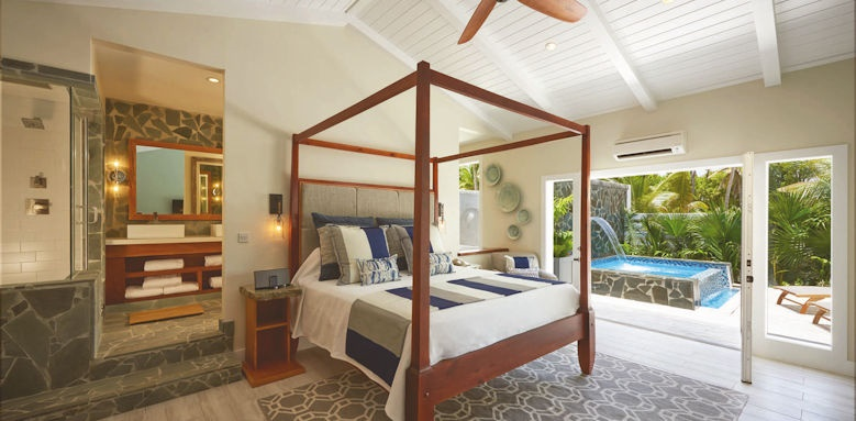 serenity at coconut bay, plunge pool butler suite