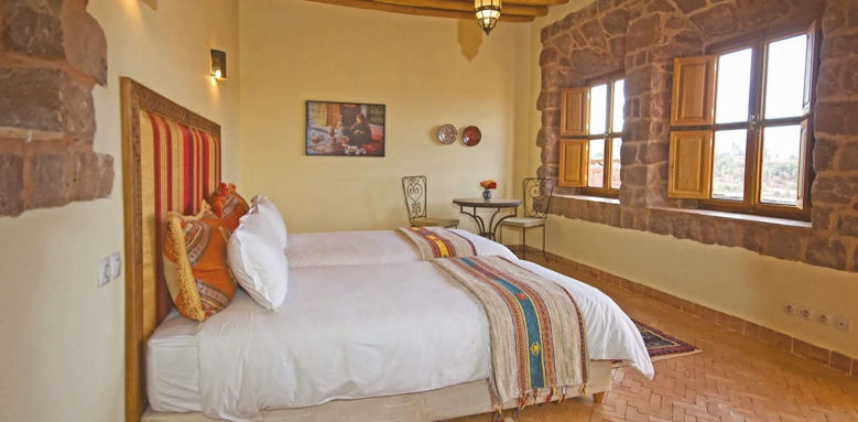 kasbah angour, assif valley room