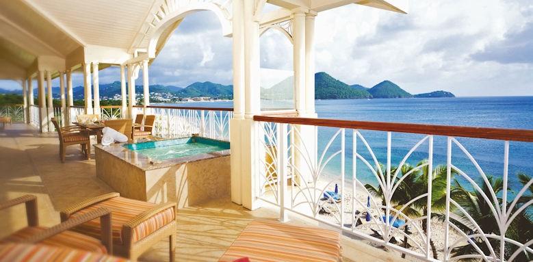 the landings resort & spa, beachfront suite