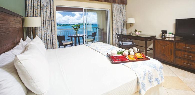 st james's club morgan bay,  deluxe ocean view room