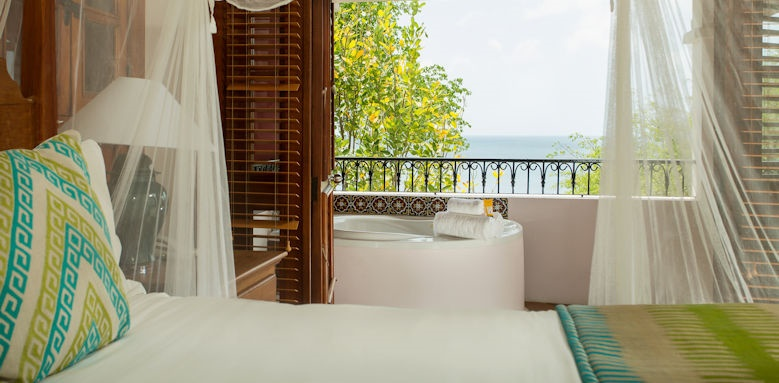 cap maison luxury resort & spa, ocean villa with jacuzzi