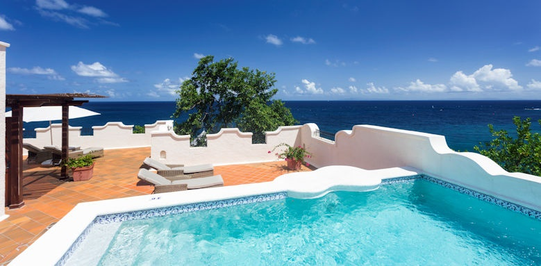 cap maison luxury resort & spa,  oceanm villa suite with pool and terrace