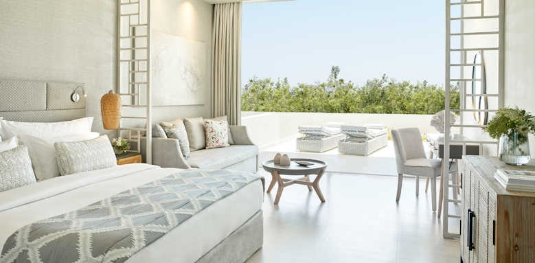 Ikos Aria, junior suite with private view