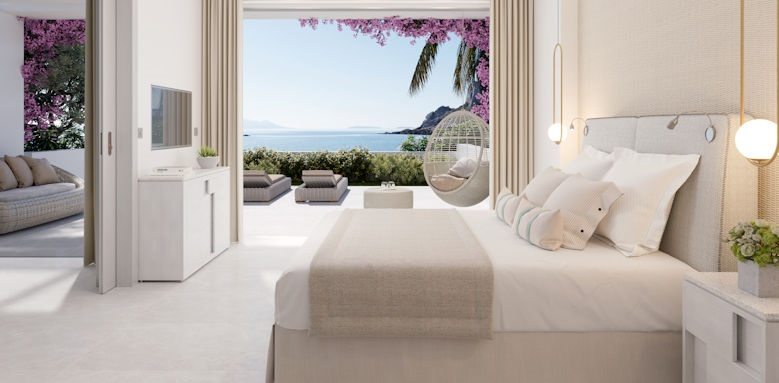 ikos aria, one bedroom suite private garden