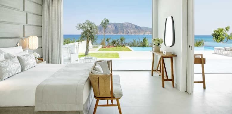 Ikos Aria, two bedroom bungalow suite beachfront